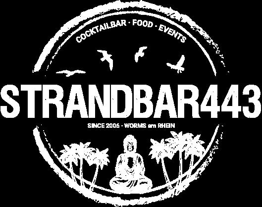 Strandbar443 in Worms - Logo
